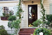 Home Exteriors / curb appeal ideas, pretty home exteriors, curb appeal inspiration