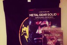 Metal Gear Solid 5 Ground Zeroes - Goodies Micromania (France) : Poster & Tee Shirt FOX