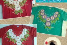 Camisas Pingos e Gotas