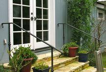 step hand rail