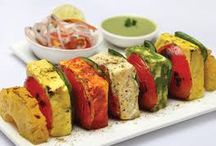 INDIAN STARTERS / Indian starters are spicy, delicious and mouth watering. Indian snack starters are the best way to start an Indian meal. Usually these starters are baked or deep fried. Tikkas, pakoras, rolls are some of the forms of Indian starters. Here are some easy to make starters for you.