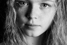 Moodboard eindopdracht portretten / Portretten in verschillende leeftijdscategoriëen