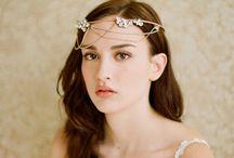 headwear of bride