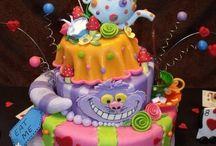 Faith's Alice in Wonderland party