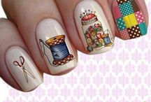 Uñas bellas para todas las ocasiones. / Uñas decoradas de muchos países para nuestras hermosas y activas manos!
