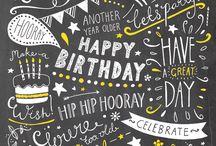 Desejos de aniversário
