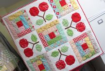 Cherry quilts and crafts