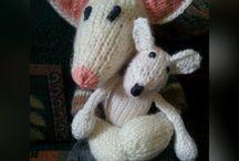 Knit and Crochet Garden / Knitting, crochet, gardens