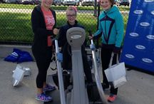 Women Run the D & NuStep / NuStep supports marathoners