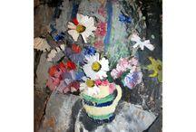 flowers -art