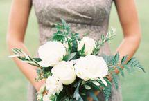 bílé květiny