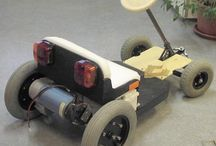 Electricity go-cart