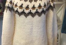 Nordisk Ø-Strik/Nordic island knitting