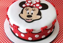 Minnie Mouse cake inspiration