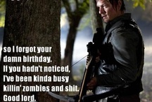 hey girl daryl dixon / by marceline bruno