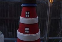 clay pot lighthouses