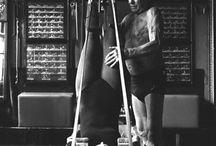 Pilates History / Archival photos of Joseph Pilates.
