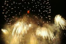 Fireworks. / The most beautiful fireworks in the world.