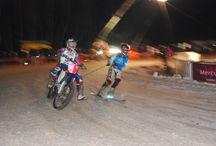 skijoering / bike and ski