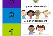 GESTION DE CLASSE / Des outils pratiques pour la gestion de classe d'un professeur en éducation primaire et secondaire.