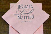 Personalized Wedding Ideas / Lets get personal! Your reception should be an expression of your style as a couple. Take this opportunity to showcase what defines your interests. Read more to find out unique ways to do just that.