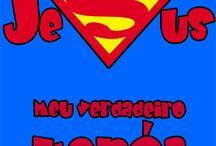 Jesus meu verdadeiro heroi