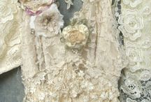 Kant en jurken / Antique lace and dresses