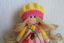 Вязаные куклы / Вязаные куклы
