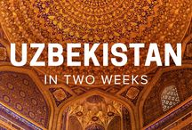 ✈ Travel to Central Asia / Central Asia travel inspiration
