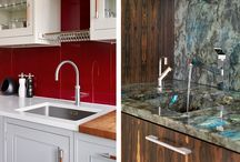 Design Ideas | Sink Style / A sink is a necessity in every kitchen, but whilst it's an essential and practical everyday item, it doesn't have to be boring or ugly. No matter what your style - be it traditional, modern, country or eclectic - there's a sink out there that will add a bit of wow factor to your kitchen and get you excited about washing the dishes (maybe). Read more about sink style here: http://www.davonport.com/Blog/82/Sinks_Style_and_Suitability