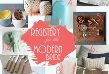 Gift Registry / What do you need to start your future together?