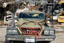 Spooky Cars / Happy Halloween 2014! To celebrate we put together this collection of spooky cars (some obviously put more effort into it then others). Enjoy and don't eat too much candy!