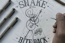 Hand made Lettering