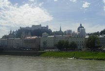 Salzburg / City of Salzburg, Austria, birthplace of Mozart, place of one of the best summer festivals, Salzburger Festspiele