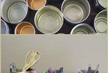 DIY / Dicas e artesanatos para decorar a casa e trazer praticidade