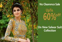 Salwar Suit on 60%  Off