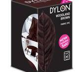 DYLON Orman Kahverengi - Woodland Brown - Fabric Dye With Salt