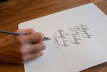 Calligraphy / by Jacque Estill Summers