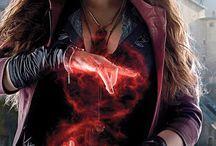 Black Widow and Scarlett Witch