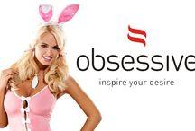 Bielizna erotyczna Obsessive akcesoria erotyczne / SUPER PROMOCJA NA WALENTYNKI! -15% RABATU NA CAŁY ASORTYMENT OBSESSIVE