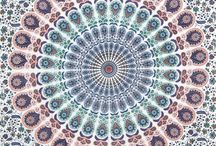 Mandala Tapestry Twin / Looking for more twin size tapestries? visit : http://www.fairdecor.com/-twin-mandala-tapestry-throw