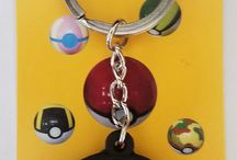 Pokemon / Pokemon, Pokeball, Pikachu, Keychain, Novelties, Backpacks, Bags