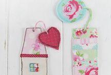 Inspiration:  Fabric Scraps / Don't Scrap Those Scraps! DiY Tutorials and Ideas for Fabric Pieces <3