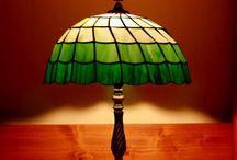 Tiffany lámpáink / Tiffany lámpa készítés Budapesten!
