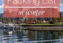 Vancouver packing list