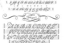 Allain Guillaume Rondo calligraphy