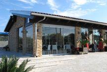 Baita Cafè Monteparano / Realizzato in collaborazione con la ditta SAFA sas, Taranto. Vetrate panoramiche