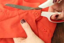 Clothing Up-cycling Re-cycling Sewing