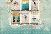 Grid and Box Scrapbook Layouts / My favorite kind of layouts! / by Jenny Powers