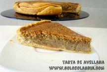 Tarta de avellana al horno / Tarta de avellana al horno receta fácil, paso a paso  http://www.golosolandia.com/2014/09/tarta-de-avellana-al-horno.html